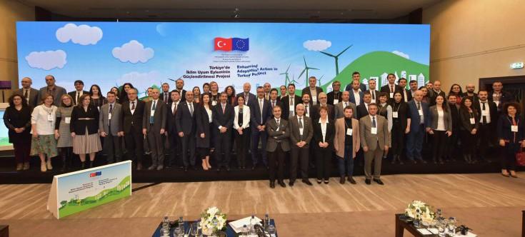 Türkiye'de İklim Uyum Eyleminin Güçlendirilmesi Projesi Açılış Konferansı