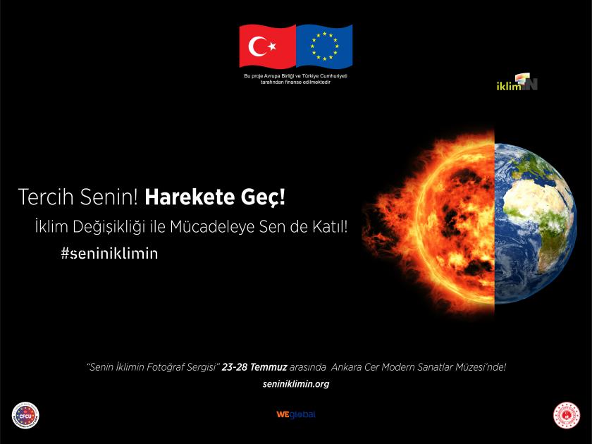 Ankara Senin İklimin Fotoğraf Sergisi Etkinliği ve Ödül Töreni
