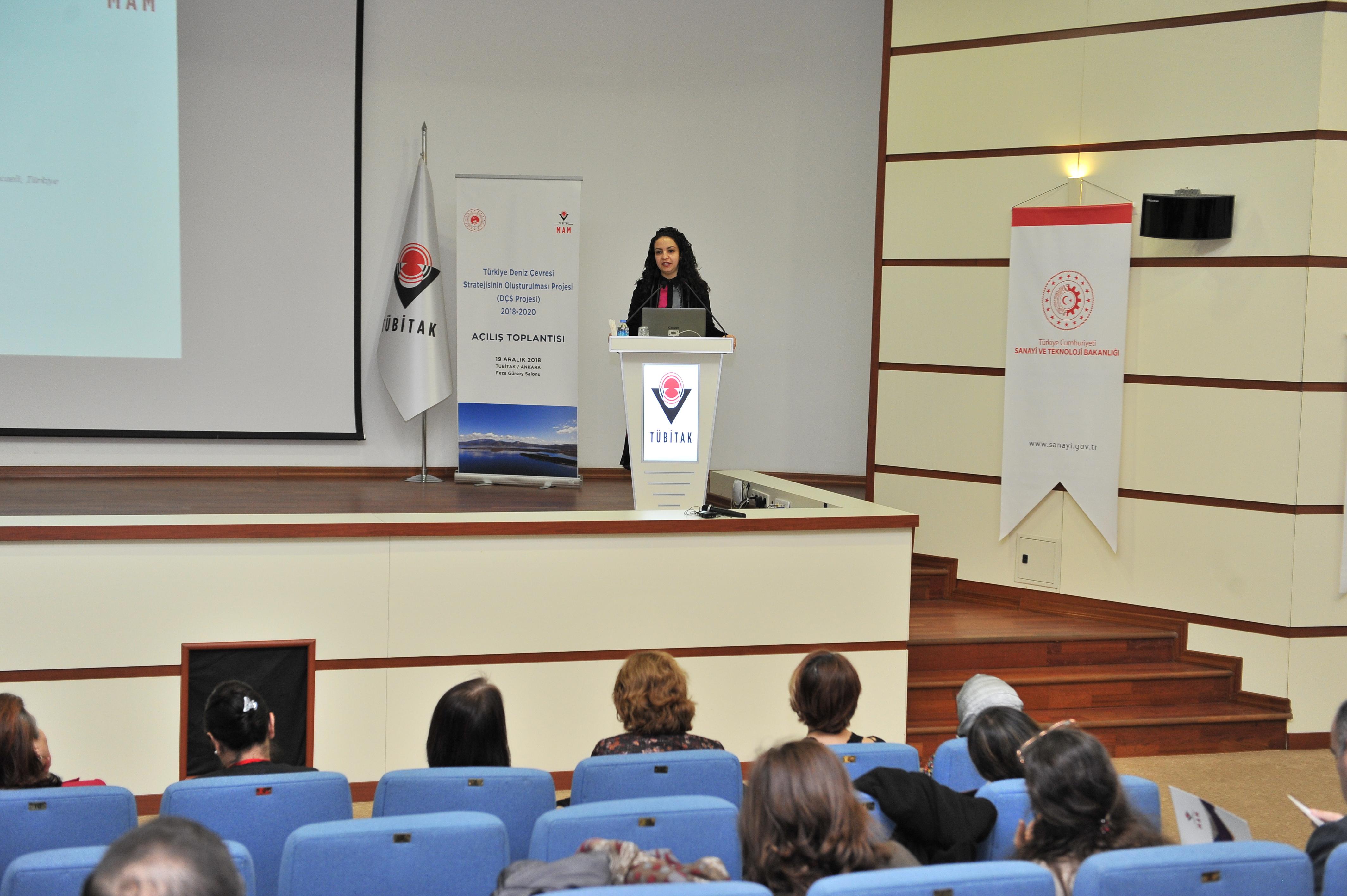 Türkiye Deniz Çevresi Stratejisinin Oluşturulması Projesinin Açılış Toplantısı Ankara Tübitak Başkanlığında Gerçekleştirildi.