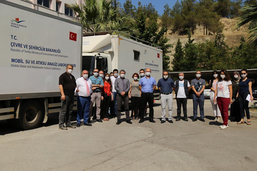Büyük Menderes Havzasında Bakanlığımız Mobil Su Ve Atık Su Analiz Laboratuvarınca Arazi Çalışmaları Gerçekleştirildi