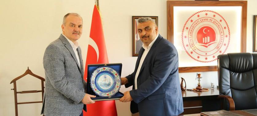 Pamukkale Belediye Başkanının Müdürlüğümüzü Ziyareti