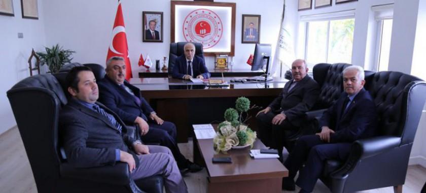 Sayın Valimiz Hasan KARAHAN'ın Müdürlüğümüzü Ziyareti