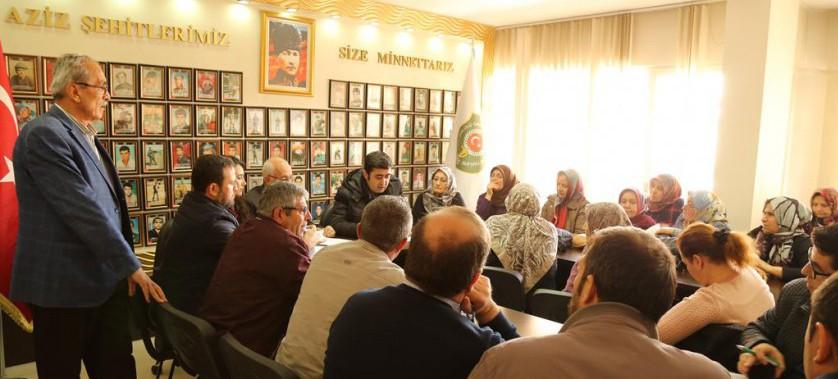 Türkiye Harp Malulü Gaziler Şehit Dul Ve Yetimleri Derneğinde Vatandaşlarımıza TOKİ Bilgilendirme Toplantısı