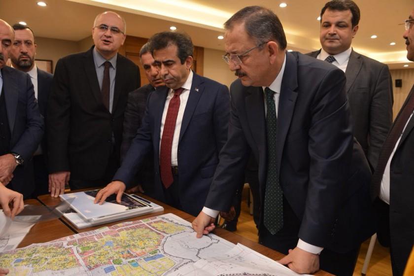 Çevre ve Şehircilik Bakanımız Sn Mehmet ÖZHASEKİ Diyarbakır da