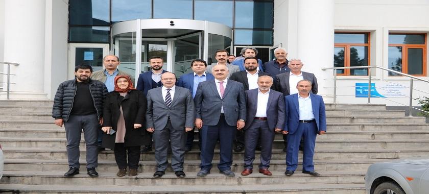 Sayın Süleyman Serdar BUDAK İl Müdürlüğümüzü Ziyaret Etti.