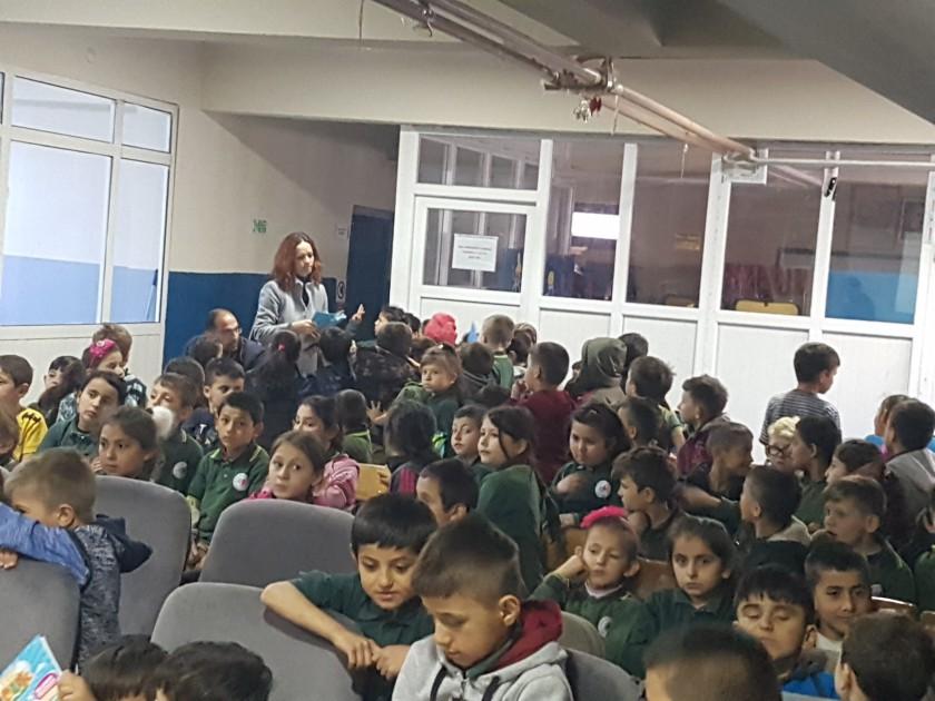 Yığılca AKV Cumhuriyet İlkokulu'nda Sıfır Atık Konulu Eğitim Verildi