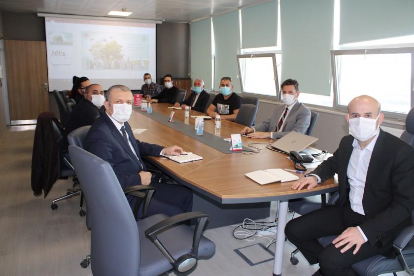 İl Müdürümüz Sayın Engin ÖZTÜRK'ün Başkanlığında Şube Müdürlerimizin Katılımıyla Bir Değerlendirme Toplantısı Gerçekleştirildi