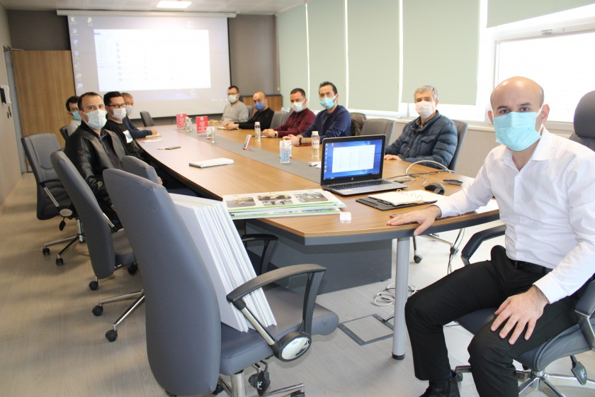 2023 Vizyonu Çeçevesinde Hazırlanan Müdürlüğümüz  Projeleri Gözden Geçirildi