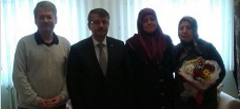 İl Müdürümüz Sayın Abdullah BÜLBÜL Şehit Ailelerini ziyaret etti.