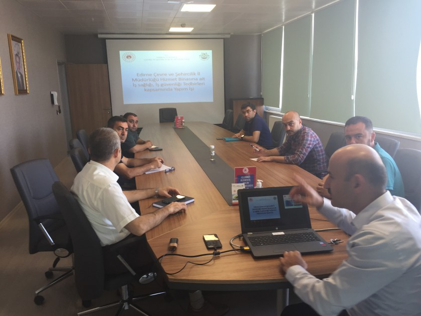 Hizmet Binamızla İlgili Bilgilendirme Toplantısı Gerçekleştirildi