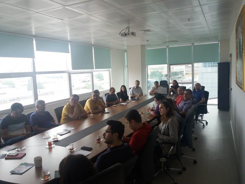 İl Müdürlüğümüz personeli için imar barışı toplantısı gerçekleştirildi.