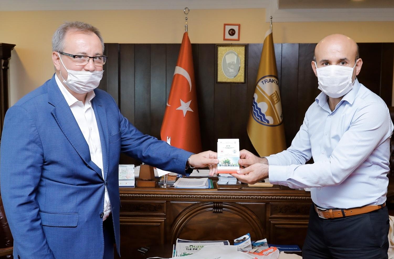 İl Müdürümüz Sayın Engin ÖZTÜRK, Trakya Üniversitesi Rektörü Sayın Dr Erhan TABAKOĞLU'nu Ziyaret Etti.