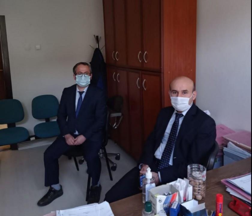 İl Müdürümüz Sayın Engin ÖZTÜRK, Lalapaşa Milli Emlak Şefliğini Ziyaret Etti