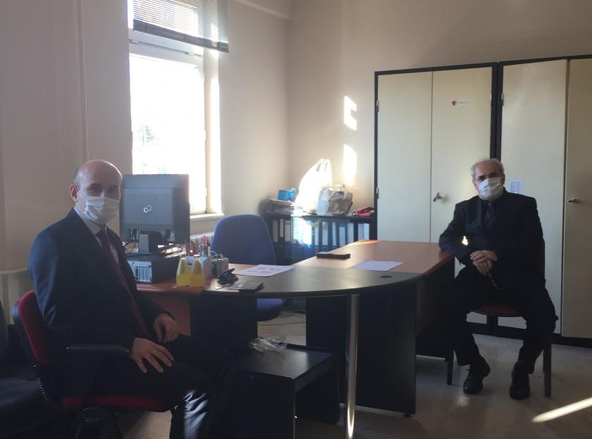 İl Müdürümüz Sayın Engin ÖZTÜRK, Süloğlu Milli Emlak Şefliğini Ziyaret Etti