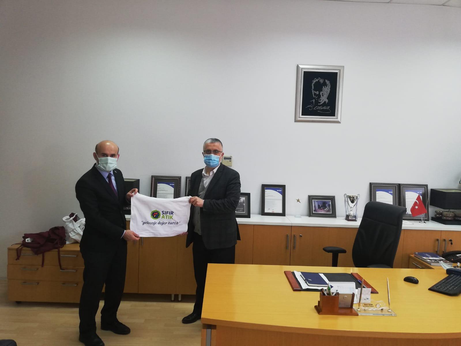 İl Müdürümüz Sayın Engin ÖZTÜRK Türk Telekom Edirne İl Müdürü Sayın Ömer ALTIN'ı Ziyaret Etti