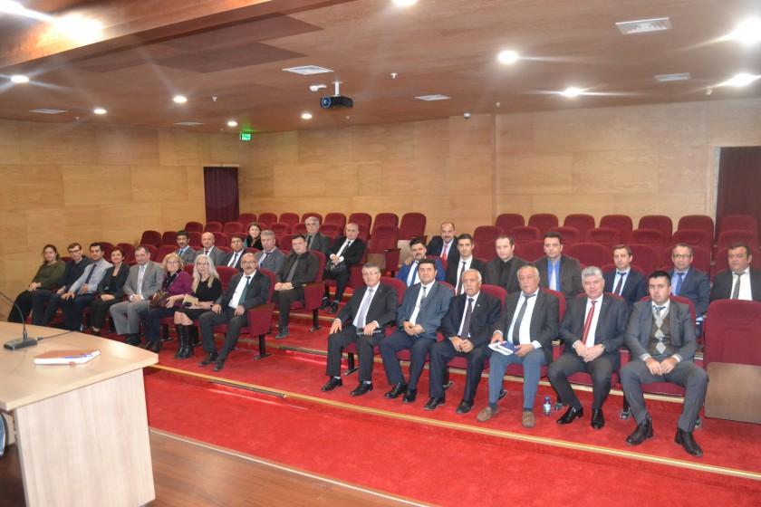 Milli Emlak Müdürlüğü Bilgilendirme Toplantısı gerçekleştirildi