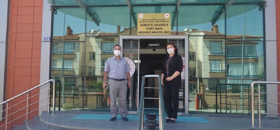 Güney İç Anadolu Temiz Hava Merkezi Müdürlüğünü Ziyaret