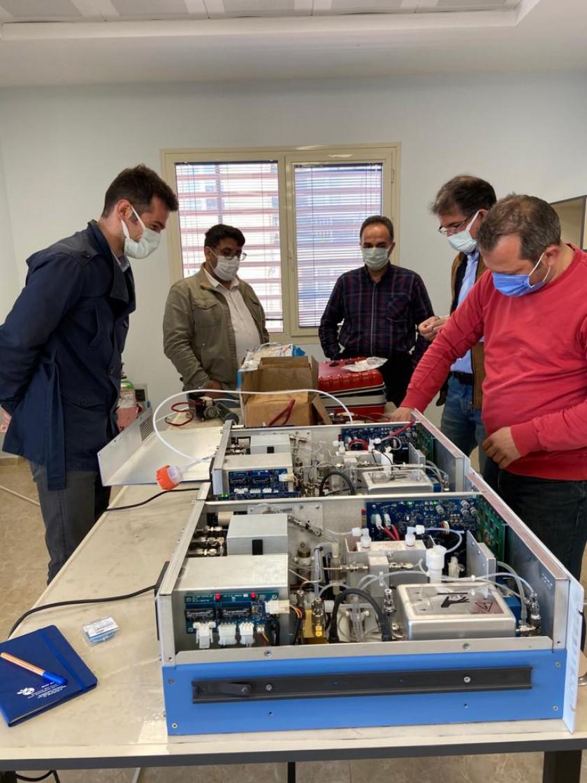 Hidrojen Sülfür (H2S) Ölçüm Cihazı Eğitimi devam ediyor.