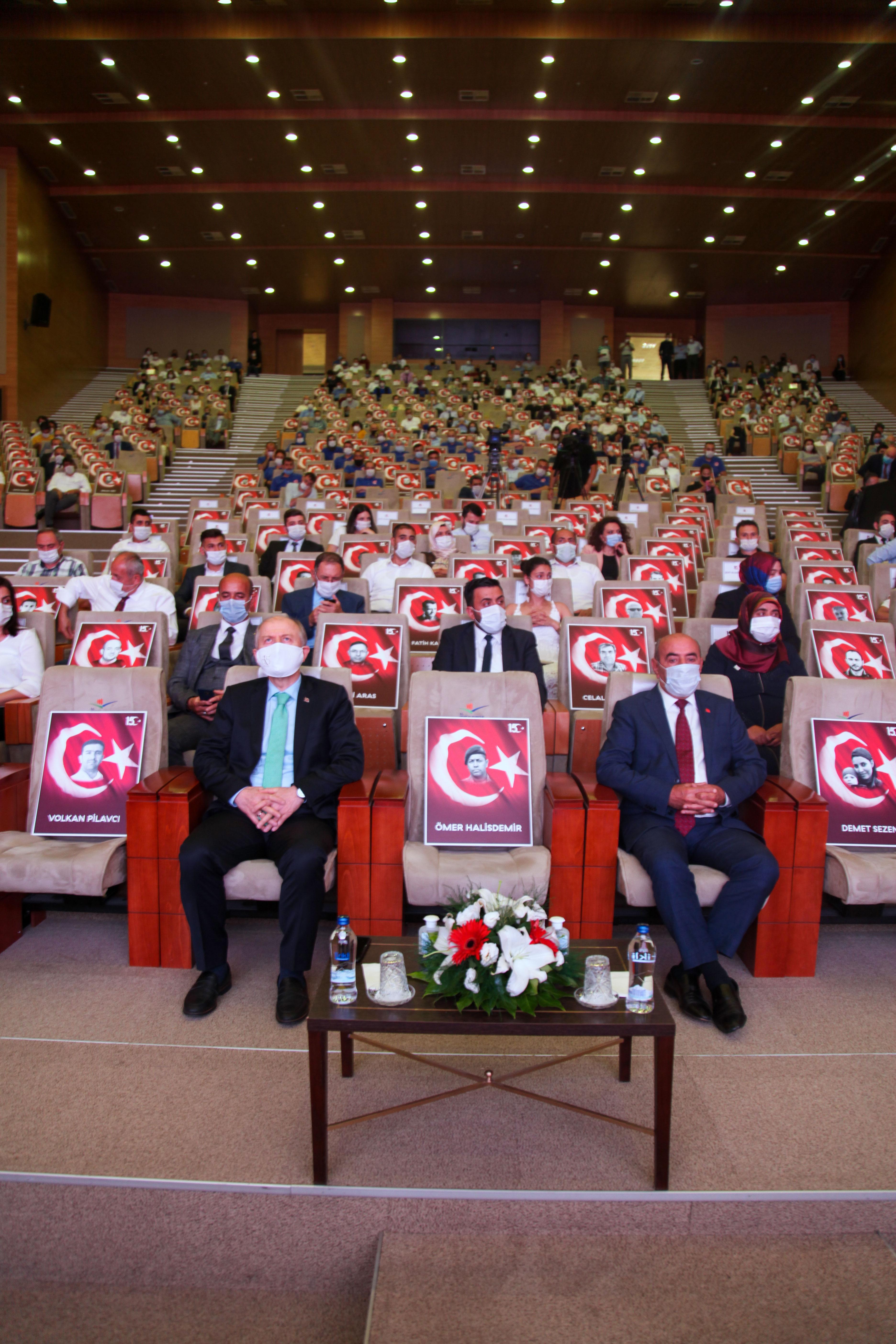 Çevre ve Şehircilik Bakanlığı'nda 15 Temmuz Demokrasi  ve Millî Birlik Günü Anma Etkinliği gerçekleştirildi.