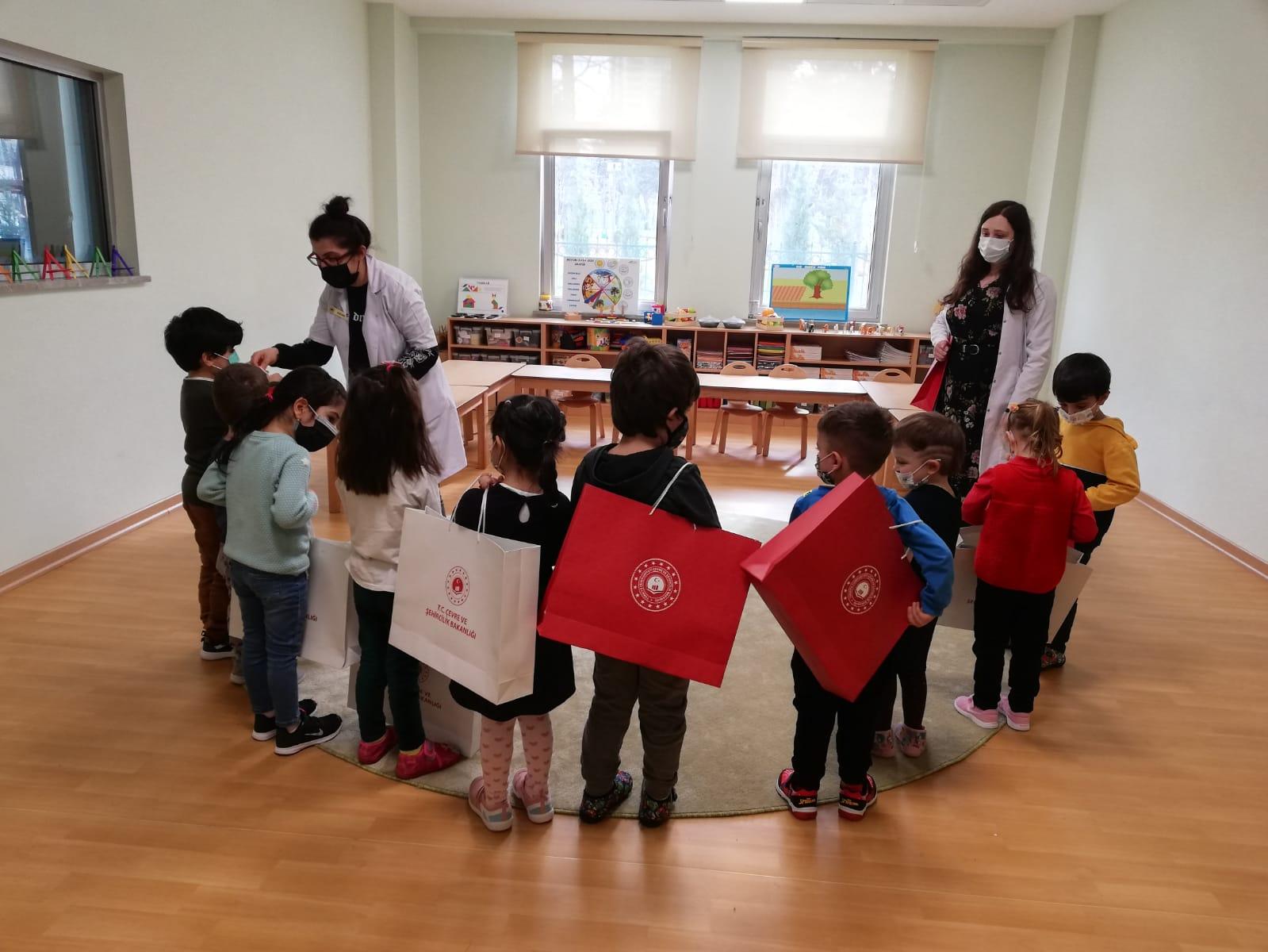Çocuklar çevre konusunda bilinçleniyor