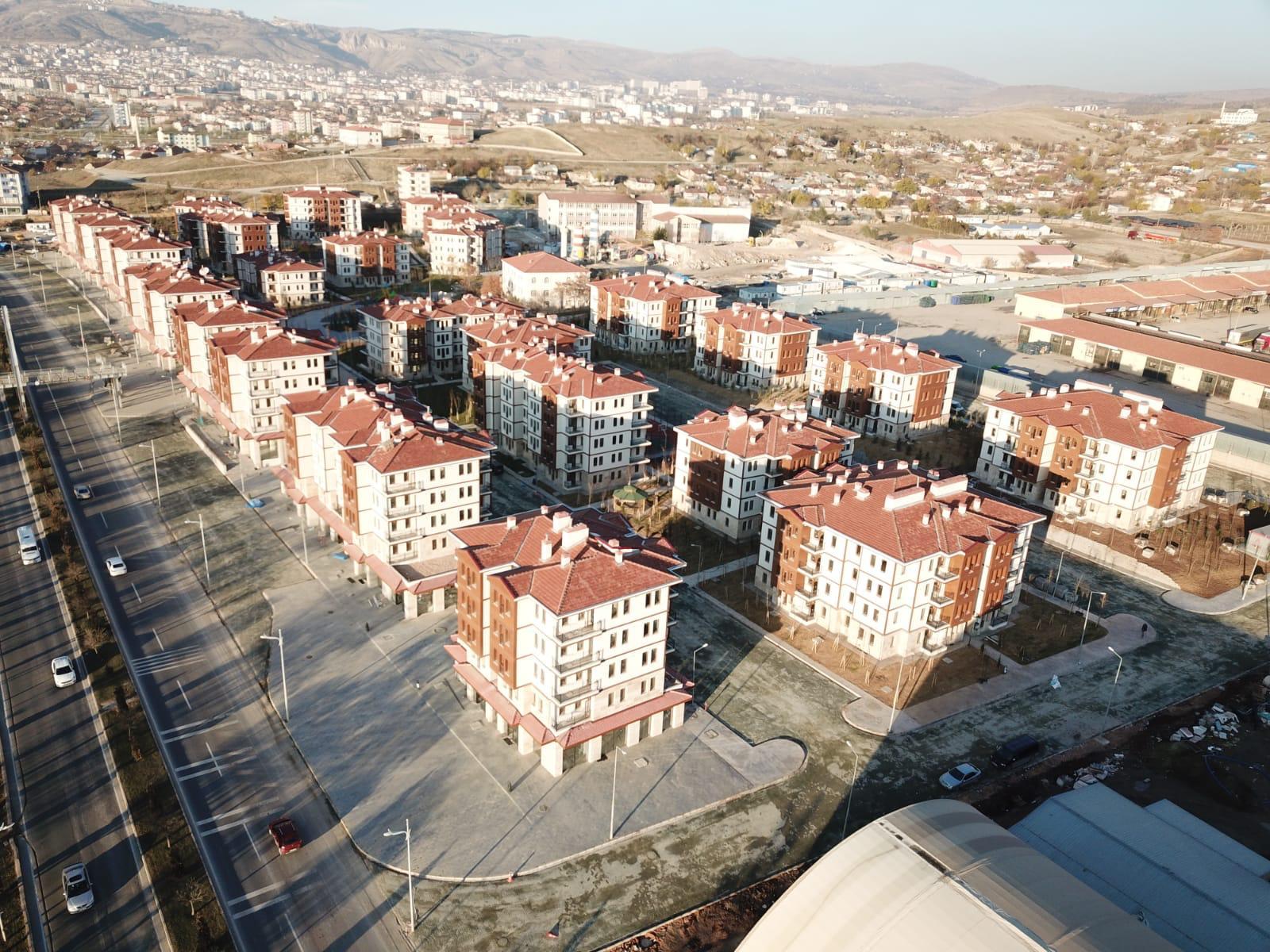 Elazığ Merkez MustafaPaşa Mahallesi 1. Etap Konutların Kura Çekimleri Yapıldı.