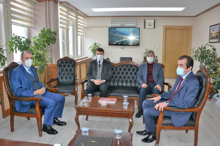 Fırat Üniversitesi Rektörü Prof. Dr. Fahrettin Göktaş ve Rektör Yardımcıları İl Müdürlüğümüzü ziyaret etti.