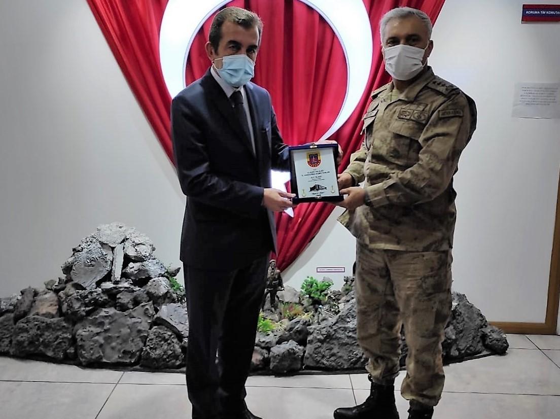 İl Müdürümüzden İl Jandarma Komutanlığına İadeyi Ziyaret