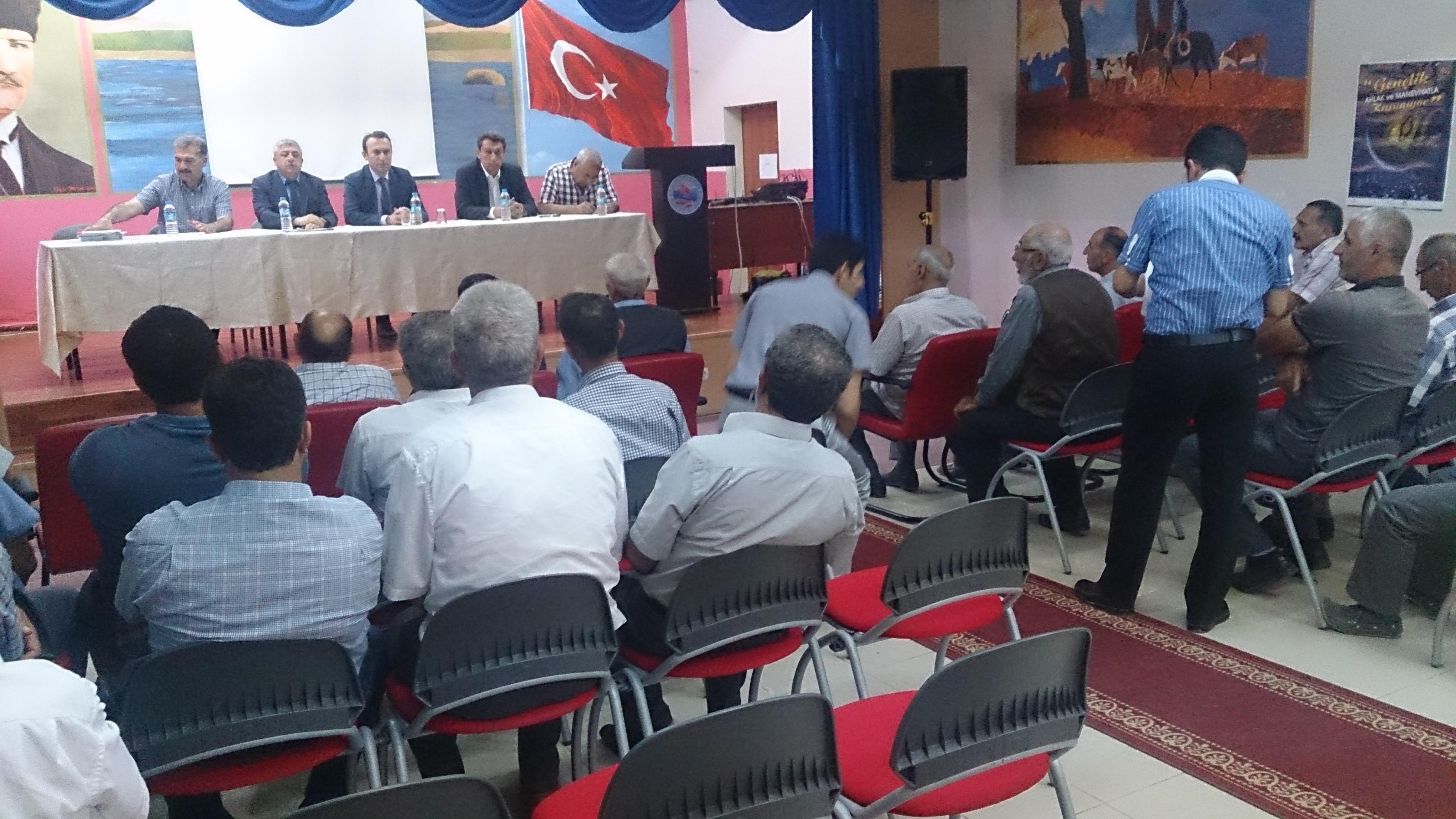 Sivrice İlçesinde İmar Barışı Bilgilendirme Toplantısı Yapıldı.