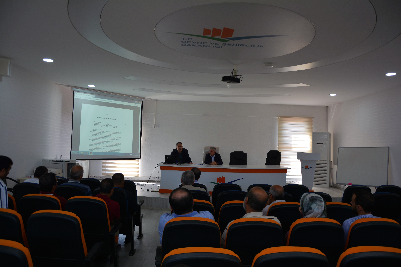 Yapı Denetim Firmaları İle Toplantı Yapıldı.
