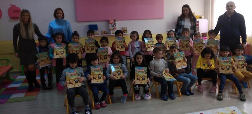 Türk Telekom Binali Yıldırım Ortaokulu Ana Sınıfı Sıfır Atık Projesi Eğitimi