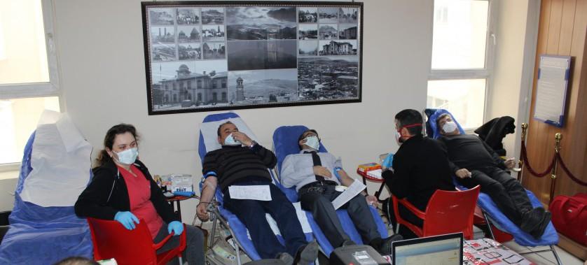 Müdürlüğümüzde Kan Bağışı Kampanyası Düzenlendi
