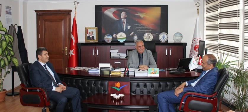 Türkiye Yol-İş Sendikası Ankara 3 Nolu Şube Başkanlığından Müdürlüğümüze Ziyaret