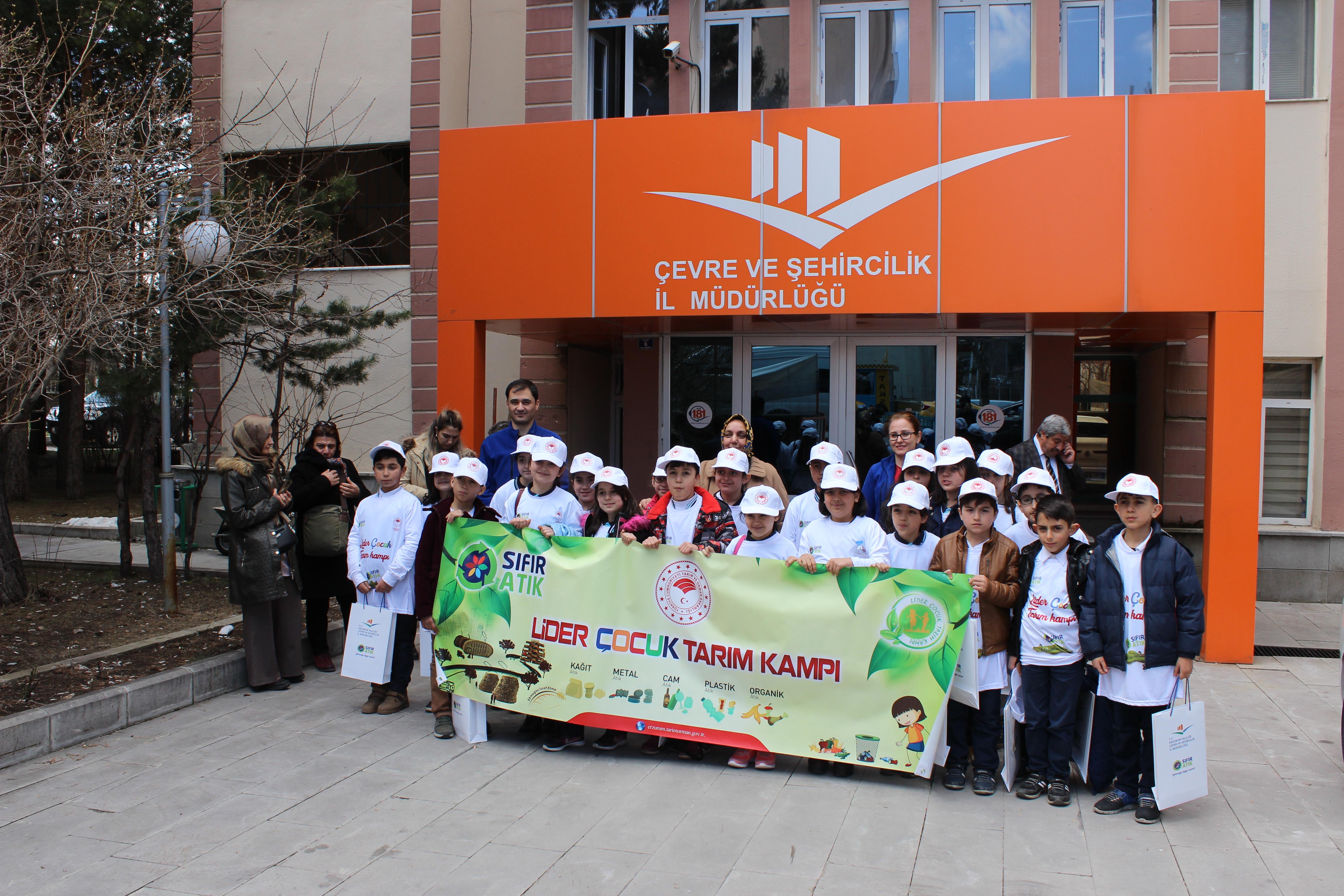 Lider Çocuk Tarım Kampı Öğrencilerine Sıfır Atık Eğitimi