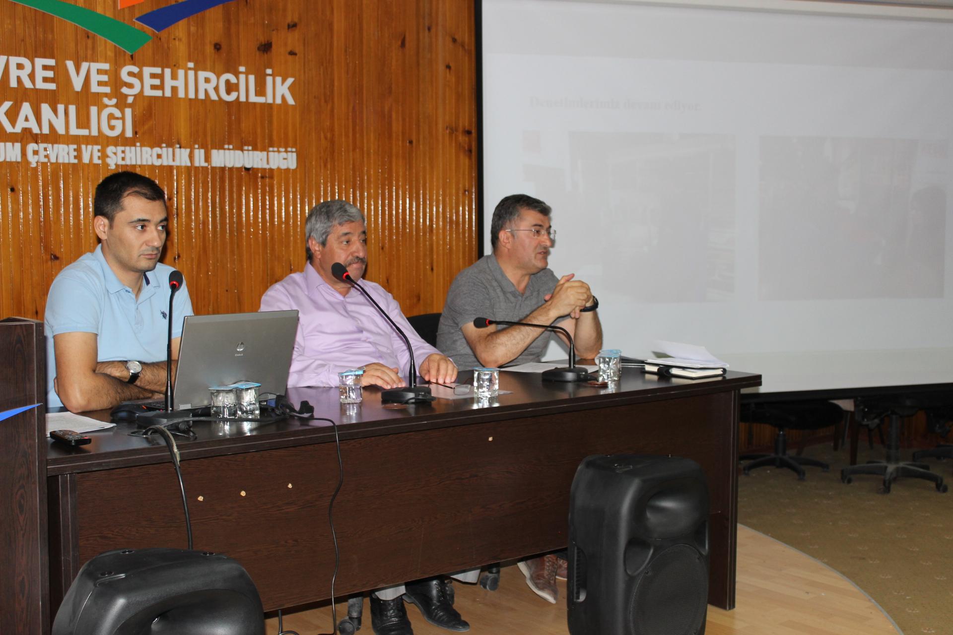 Plastik Poşetlerin Ücretlendirilmesi Kapsamında Satış Noktaları Temsilcileriyle Toplantı Yapıldı.