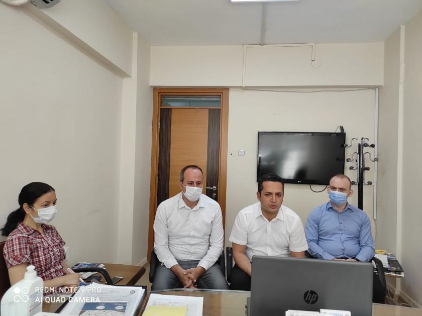 2020 yılı Mahalli Çevre Kurulu toplantısı  pandemi nedeniyle online olarak İl Müdürlüğümüz tarafından yapılmıştır