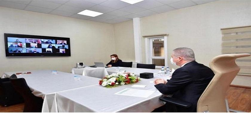 İl Müdürlüğü Değerlendirme Toplantımızı Sayın Valimiz Davut Gül Başkanlığında videokonferans Yöntemi ile Gerçekleştirildi.