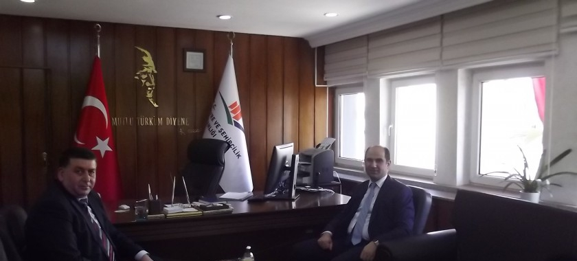Vali Yardımcısı Sayın Dr. Sezer IŞIKTAŞ  Kurumumuzu Ziyaret etti.