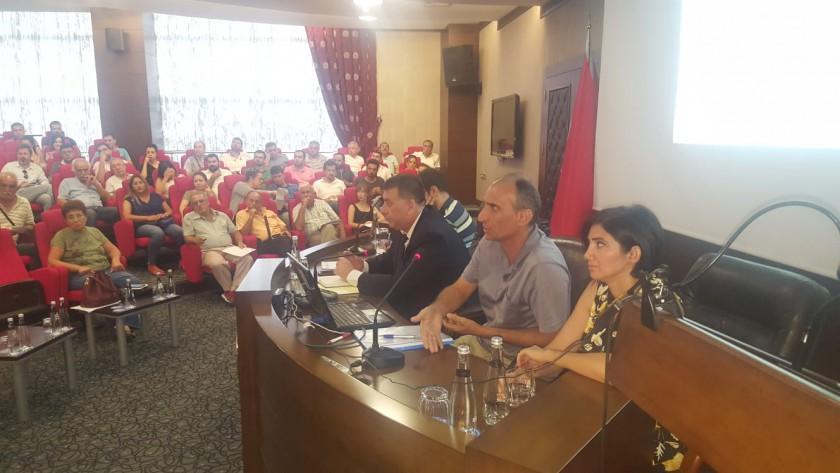 İskenderun Sanayi ve Ticaret Odası Üyelerine İmar Barışı Bilgilendirme Toplantısı Düzenlendi