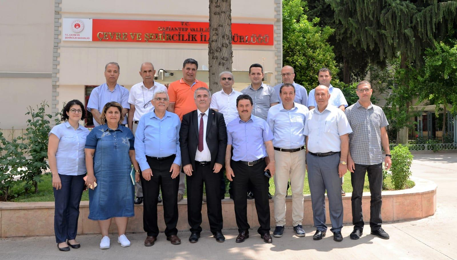 """İç Denetim Birimi Başkanlığınca Gaziantep Çevre ve Şehircilik İl Müdürlüğünde """"bürokrasinin azaltılması, iç kontrol ve etik yönetim"""" konulu toplantı ve seminer düzenlenmiştir."""
