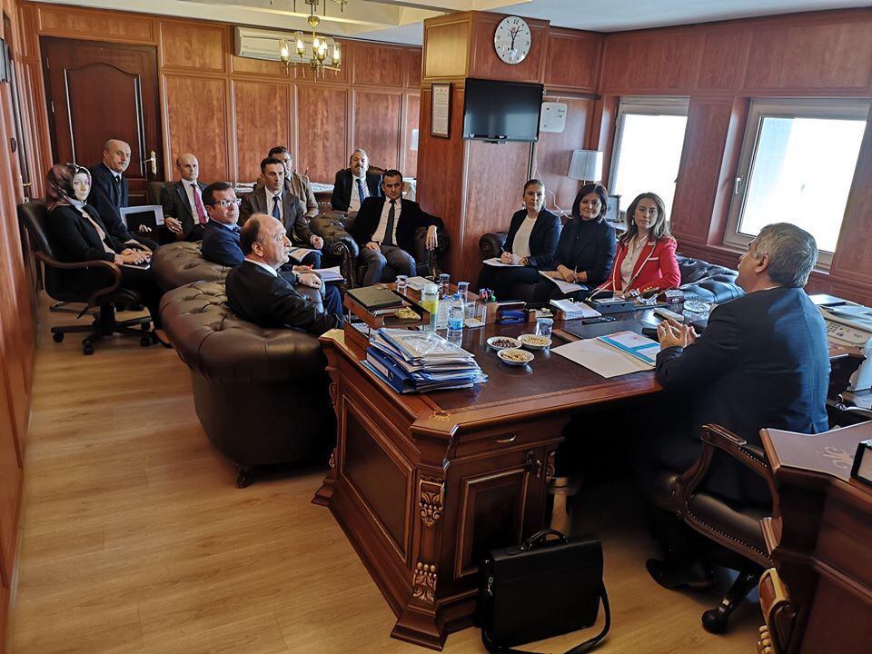 """İç Denetim Birimi Başkanlığınca Giresun Çevre ve Şehircilik İl Müdürlüğünde """"bürokrasinin azaltılması, iç kontrol ve etik yönetim"""" konulu toplantı ve seminer düzenlenmiştir."""