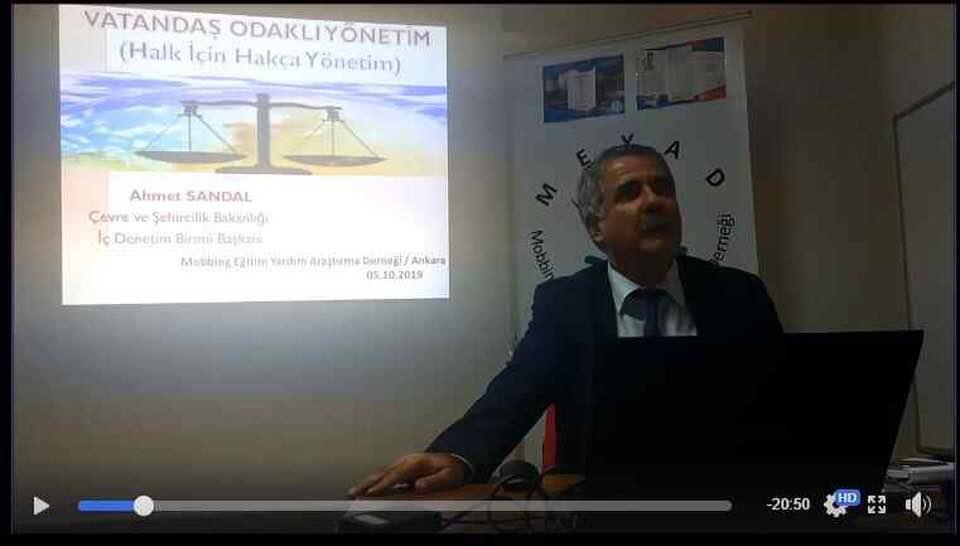 """Vatandaş Odaklı Yönetim"""" konusunda seminer"""