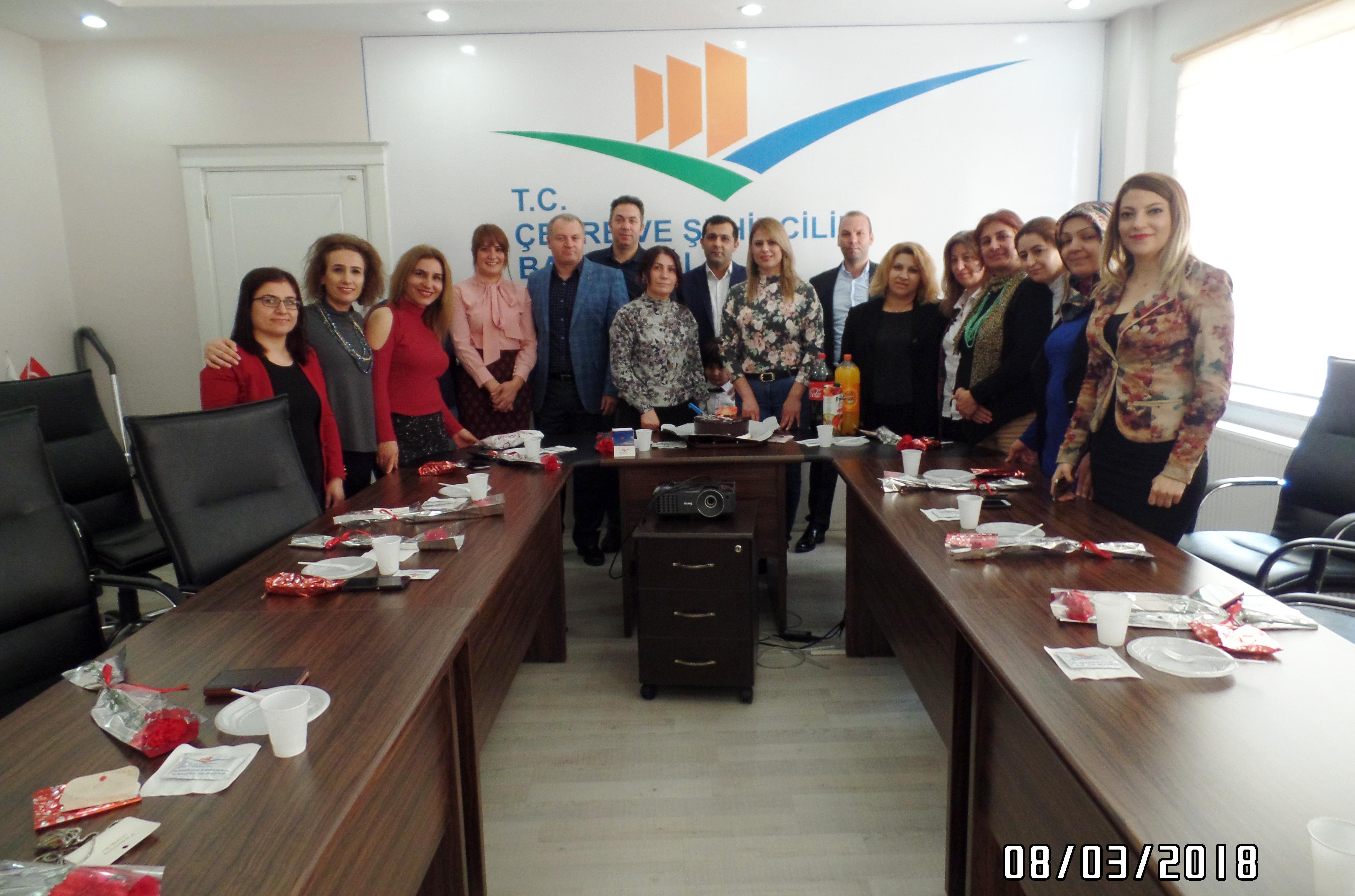 İl Müdürlüğümüzde 8 Mart Dünya Kadınlar Günü Programı Düzenlendi.
