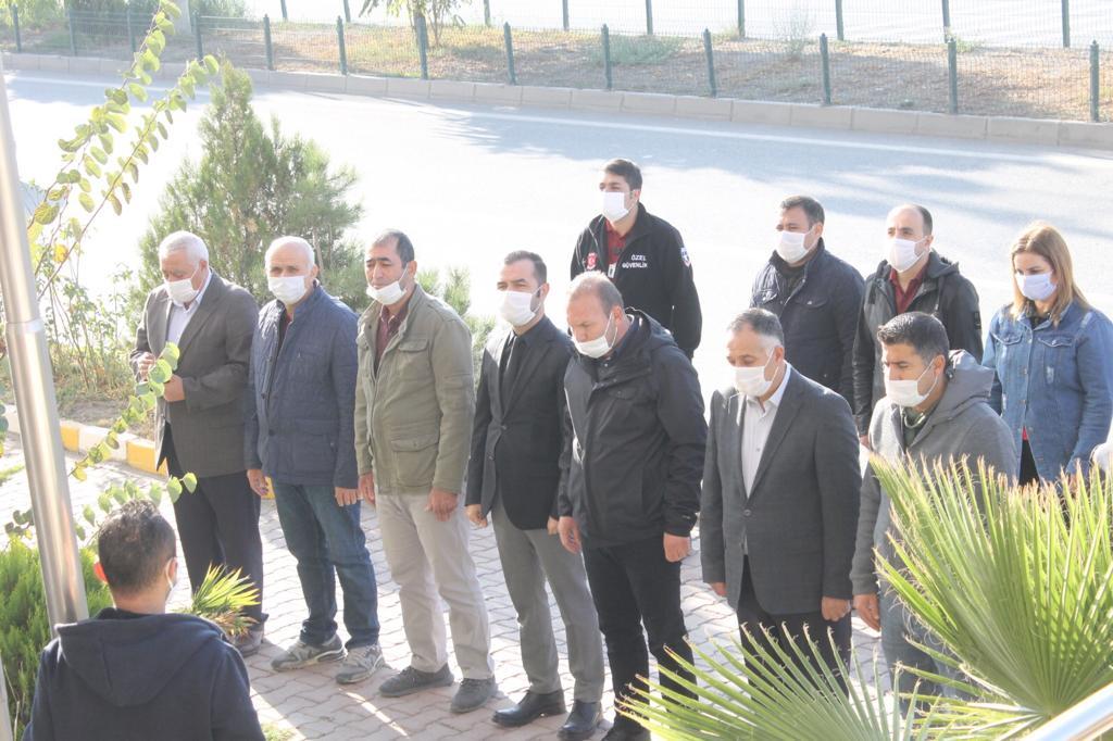 İl Müdürlüğümüzde Büyük Önder Gazi Mustafa Kemal Atatürk'ü anma töreni düzenlendi.