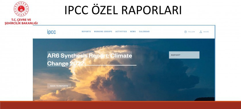 IPCC ÖZEL RAPORLARI