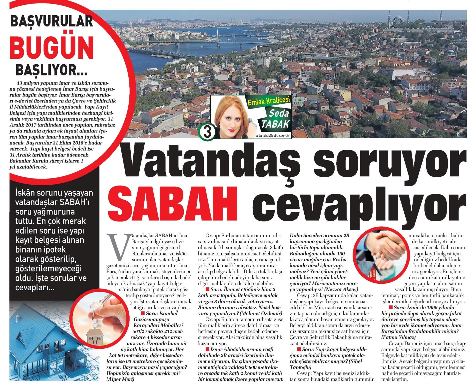 SABAH 8 HAZİRAN