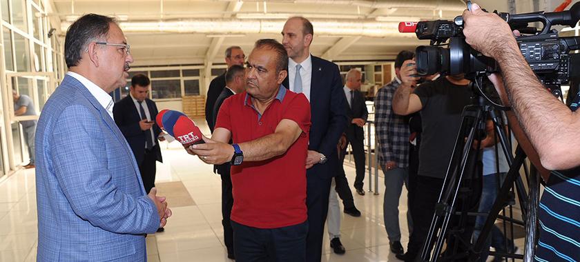 Bakan Özhaseki OSB Ziyareti'nde İmar Barışı'nı Değerlendirdi