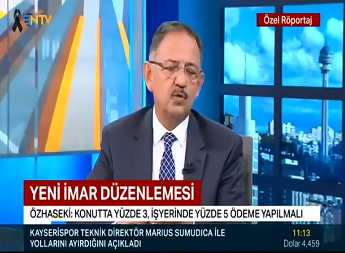 Bakan Özhaseki'nin NTV Özel Röportajı