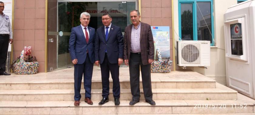 İl Müdürümüz Eğirdir Belediye Başkanı Veli GÖK'e ziyarette bulundu.