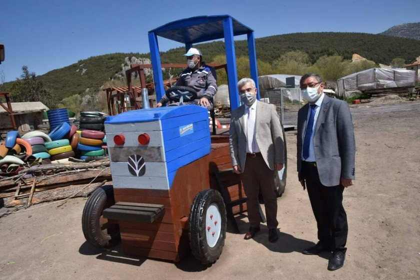 Eğirdir Belediyesinin Sıfır Atık Parkı Yapım Çalışmaları Yerinde İncelendi