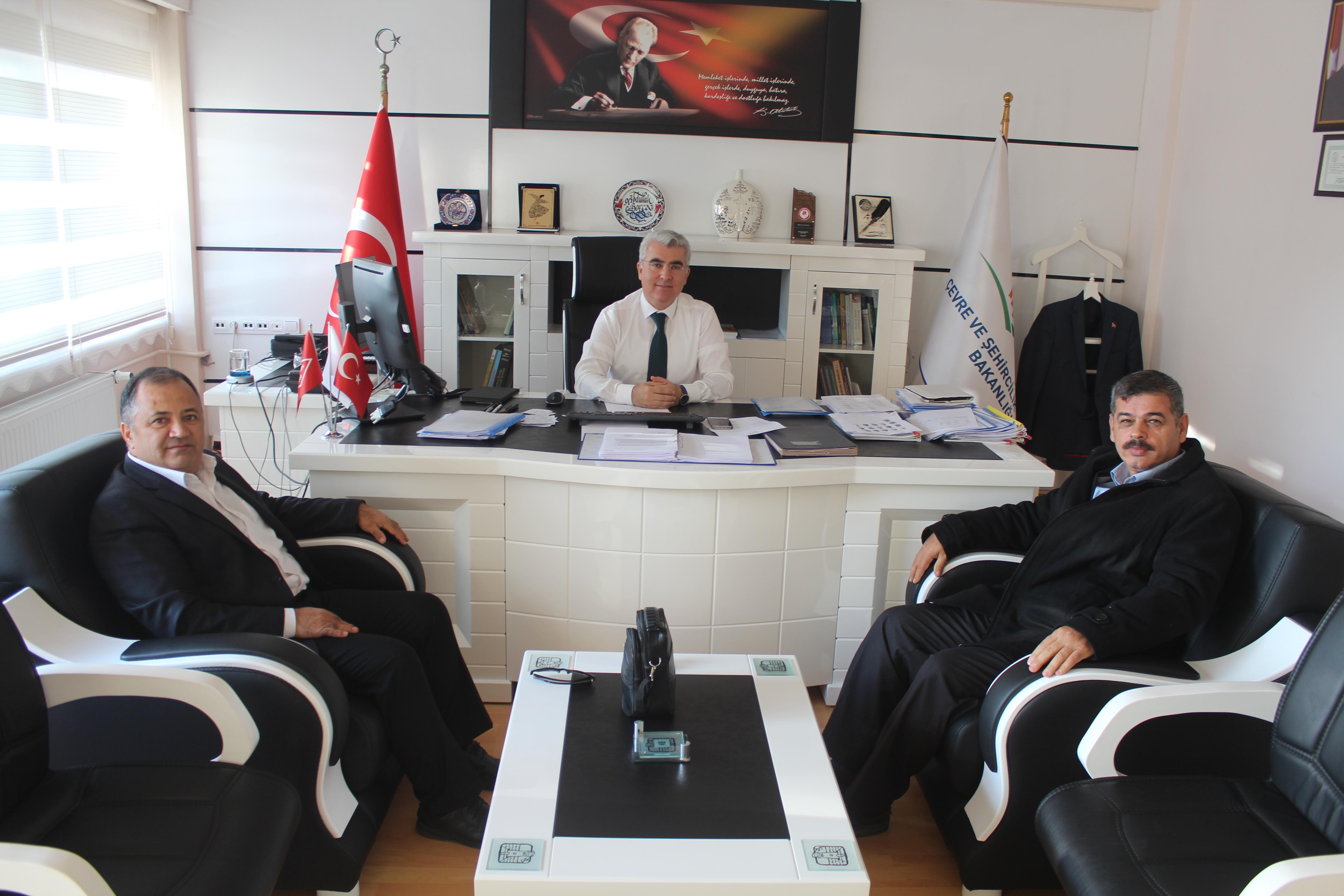 SDÜ Mimarlık Fakültesi Dekanı Prof.Dr. Ali TÜRK ve SDÜ Mühendislik Fakültesi Atık Yönetim Ana Bilim…